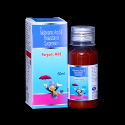 Mefenamic 100mg & Paracetamol 250mg Suspension 60ml ( with Outer Carton)