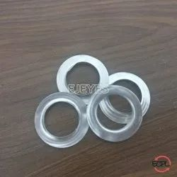 No. 32 Aluminum Flat Eyelets & Washers Polished