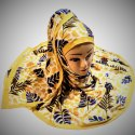 Multi Color Custom Printed Scarf Hijab (Square/Rectangle)