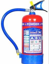 Mild Steel A B C Dry Powder Type attack fire extinguisher, Capacity: 5Kg