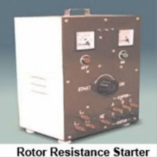 Rajat Single Phase Rotor Resistance Starter, Voltage: 230v, Warranty: 1 Year