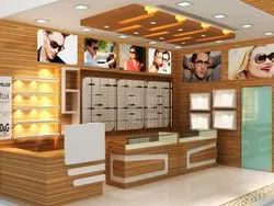 Interior Designing for Eye Wear Showroom