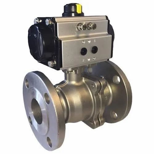 Flanged End BDK Actuated Ball Valve, Size: 6-250 mm, for ...