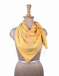 黄色平原围巾,包装类型:塑料袋