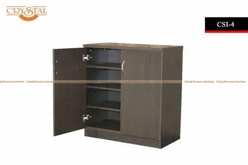 Crystal Furnitech Shoe Rack Shutter Size 825 H X 900 W