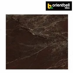 Orientbell SUPER GLOSS TAURUS BROWN Marble Tiles, Size: 600X600 mm