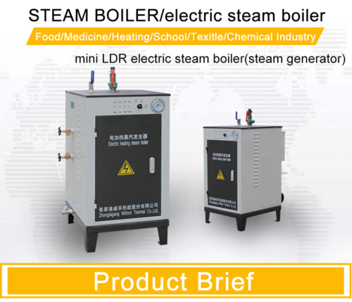 Electric Steam Generator Boiler, Industrial Steam Boilers ...