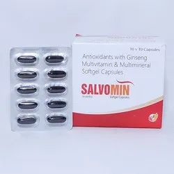 Salvomin Nutraceutical Softgel Capsules