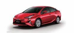 Emotional Red Toyota Prius Car