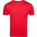 Half Sleeves Plain T Shirt