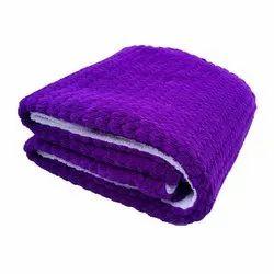 Little Cubs Violet Flannel Baby Blanket