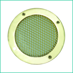 Heavy Duty Polished Brass Vent Grill ( Brass)