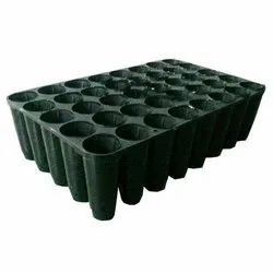 Plastic 40 Cell Seedling Tray, For Wetland Paddy Seeding