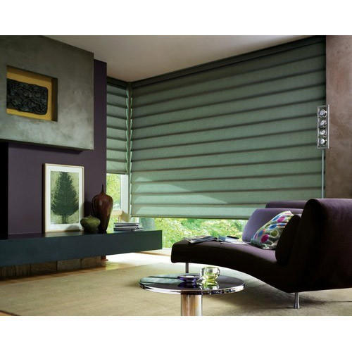 Motorized Curtains Home Automation System