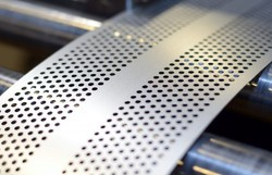 SS 304 Perforated Sheet