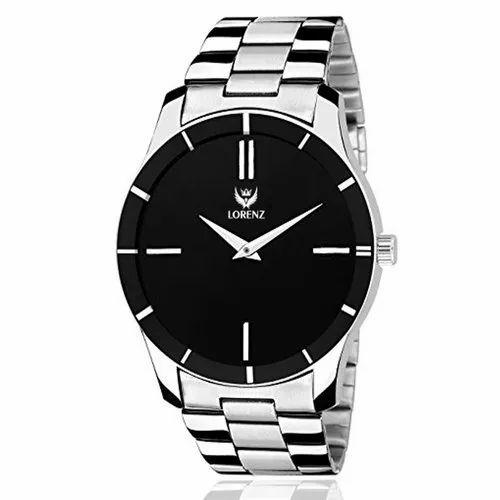 Lorenz Analogue Black Dial Men' ' s Watch/Boys Watch - MK-1076A