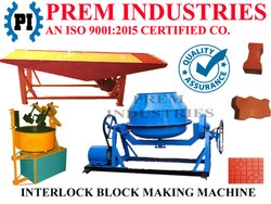 Cement Paver Tiles Making Machine