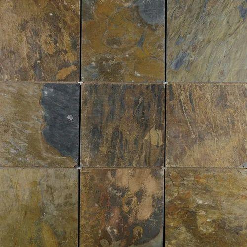 Rustic Gold Slate Stone