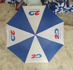 涤纶白蓝宣传伞