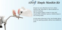 Metallic Dental Simple Manikin, Model Name/Number: Adem Simple Manikin, for Clinical
