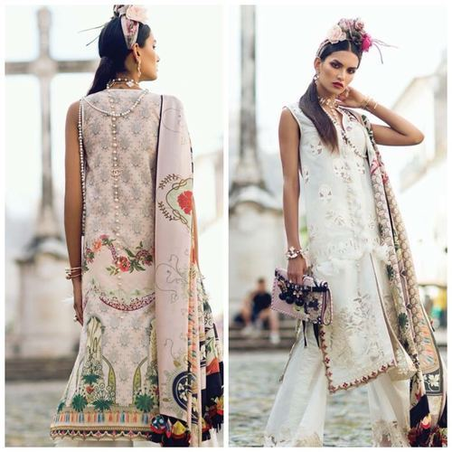 00c046cf39 Ladies Cotton Printed Unstitched Lawn Suit