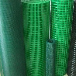 Cold Rolled Pvc coated garden fencing weld mesh, Material Grade: Heavy, Size: 16 Swg