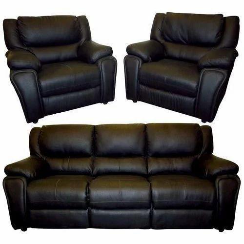 Leather Sofa Set at Rs 12000 /set | Leather Sofa Set | ID: 16488329948