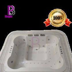 Eliseo Hydro Massage Acrylic Jacuzzi Bathtub
