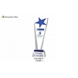 Crystal Sensation Star Trophies