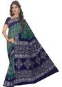 Party Wear Cotton Batik Print Saree