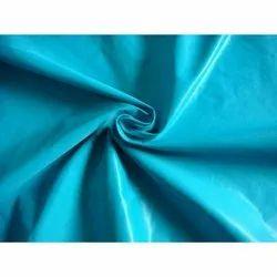 Blue Plain Nylon Fabric, GSM: 100-150