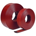 Red LDPE Lay Flat Agricultural Pipes