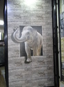 Elephant Wall Picture