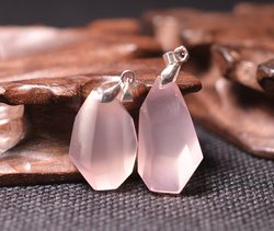 Rose Quartz Gemstone Pendant