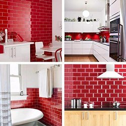 Peel and Stick Subway Tile