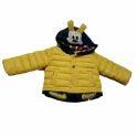 Kids Yellow Hooded Jacket