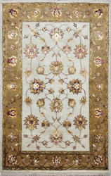 Hand Made Wool Silk Area Rug