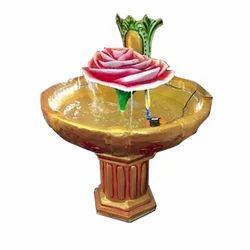 Dhanwanti Handicraft Lotus Decorative Fountain, For Decoration