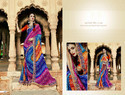 Georgette Printed Bandhani Saree