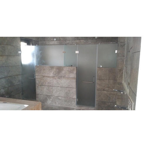 Shower Glass Partition at Rs 350/square feet | शावर ...