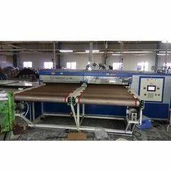 Double Conveyor Gas Curing Machine