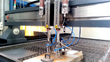 Multi Cutting Head Water Jet Cutting Machine, Dwj1313-fb