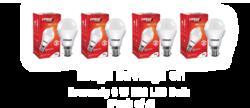 Eveready LED Bulb, Power Consumption: 3-20 W