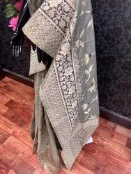 Ladies Silky Designer Saree