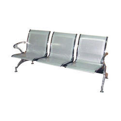 Three Seater Chrome Chair