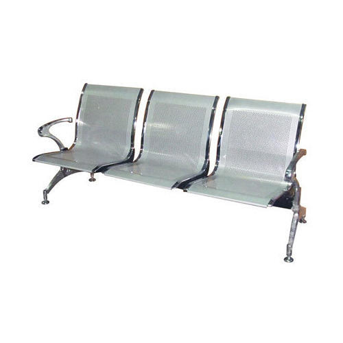 Steel Three Seater Chrome Chair Rs 3600 Piece Surgical
