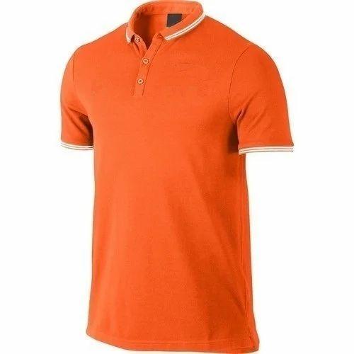 8b41c9cd Orange Men's Half Sleeve T-Shirt, Rs 350 /piece, Sparrk Fashions ...