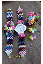 Women Fancy Watch And Bracelet