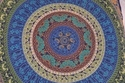 Blue Six Colour Of Mandala Cushion Cover