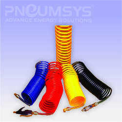 PU Spiral Tubes With Fittings